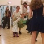 Dancers of all ages and abilities are welcome . . .